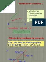 Ecuación de la recta y una aplicación
