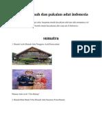 Gambar Rumah Dan Pakaian Adat Indonesia