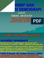 52993051 Konsep Dan Definisi Demografi Ppt Partemuan 1