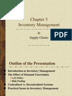 Asset & Liabilities Management Chapter 3