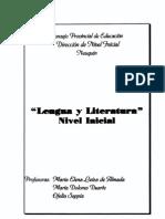 Lengua y Literatura Nivel Inicial