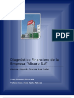 Diagnostico Financiero de La Empresa Alicorp SA