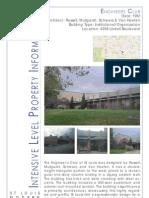 City of St. Louis Mid-Century Modern Architecture Survey - 40 buildings