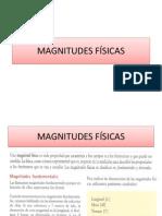 Magnitudes f Sicas