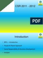 BPCL CSR 2011 - 2012