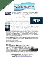 MÉRIDA VACACIONES PRECIOSAS Actividades y Paseos 2012 (3)