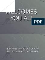 Slip Power Recovery