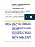 Yjaimez_Andamio Cognitivo Necesidades Sociales y Necesidades Educativas Actuales