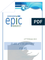 Special Report by Epic Research 13.02.13