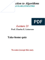Lecture 21