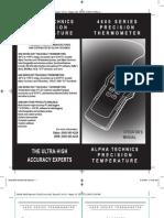 Termometru Distek 4600Manual