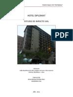 Impacto Vial Hotel Diplomat