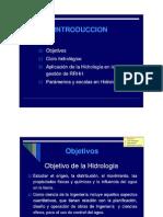 1.Definiciones Hidrologia - Parametros Cuenca