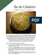 10.10.01 Tortilla de Cilantro, RGT