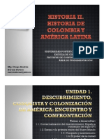 Unidad 1 Descubrimiento, conquista y colonización de América