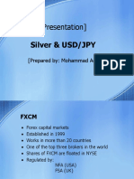 Presentation about Silver and Yen