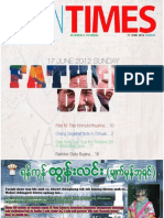 Tahan Times Journal- Vol. 1- No. 24, June 17, 2012