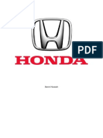 Economic Analysis of the Honda Accord