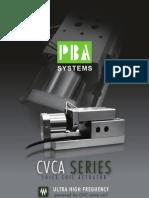 CVCA SERIES Voice Coil Actuator - PBASystems