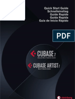 Cubase 7 Quick Start Guide