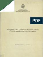 Análise estática e dinâmica geometricamente não linear de estruturas atirantadas.pdf