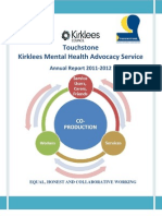 Kirklees Advocacy Service Annual Report 11-12