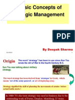 01 DS Introduction to Strategic Mgmt