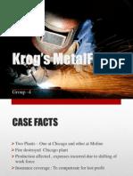 Presentation -Krog's Metalfab