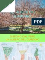 Percorso gli Alberi Del Giardino - Scuola dell'Infanzia Sez 5 Anni 2002-2003
