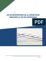 Les 50 propositions de la CGPME pour simplifier la vie des entreprises