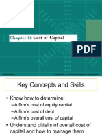 Chap012 Cost of Capital