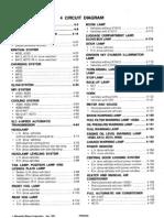 Mitsubishi Galant Lancer    Wiring       Diagrams    19942003