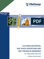Decanters Disc Stack, Belt Presses, Breweries