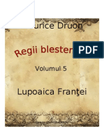 Maurice Druon - Regii Blestemati Vol.5 - Lupoaica Frantei [v. BlankCd]