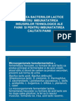 Utilizarea Bacteriilor Lactice