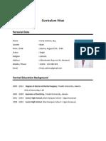 CV for Siloam Hospitals