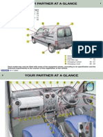 Peugeot Partner Owners Manual 2003