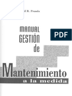 manual gestion de mantenimiento a la medida