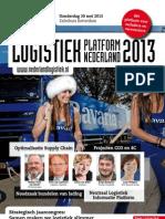 Brochure Logistiek Platform Nederland 2013