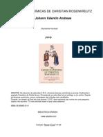 As Bodas Alquimicas de Christian-Rosenkreutz