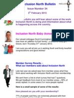 Inclusion North Bulletin 34