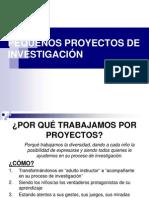 Teoría sobre la metodología por  PROYECTOS DE TRABAJO