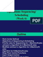 Operations Scheduling_Sequencing