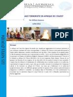 Menace Terroriste AfriqueOuest 12 Juillet12