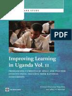 Improving Learning In Uganda, Vol. II