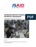 Cambodian Garment Industry Workforce Assessment