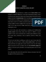 PHYSICS II Module 1 (Series)