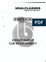 Bansal Classes Gravitation Study Material
