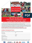 STFC FITC Easter Course Lambourn