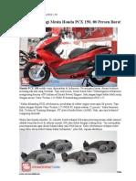 Bedah Teknologi Honda PCX 150